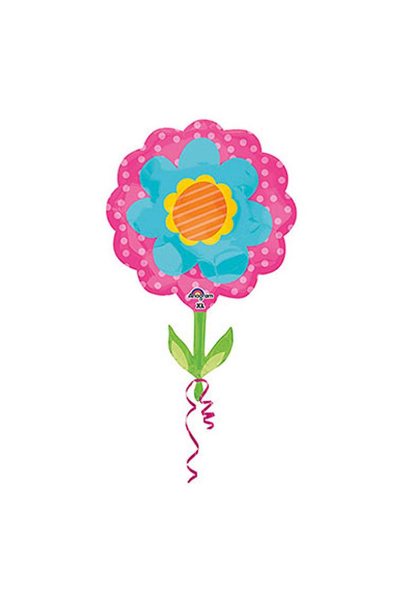 Bahar Çiçeği SuperShape Folyo Balon 53cm x 73cm 1 Adet