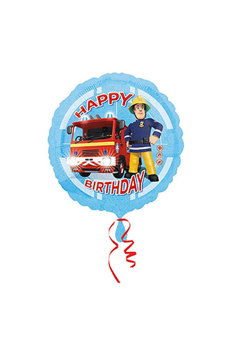 Fireman Sam Happy Birthday Folyo Balon 43cm 1 Adet
