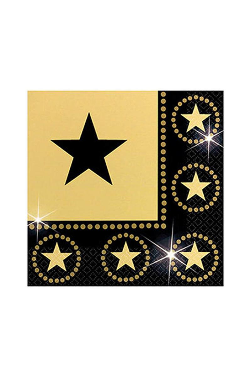 Hollywood Yıldızı Kağıt Peçete 33x33cm 16lı