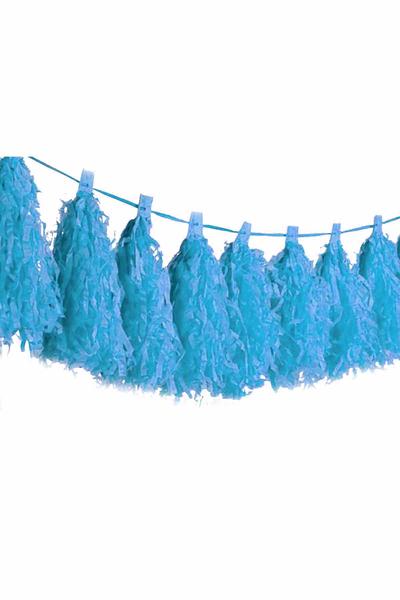 Mavi Püskül 1 Adet