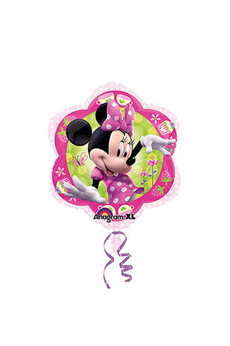 Minnie Mouse Orta Boy Folyo Balon 35cm x 38cm 1 Adet