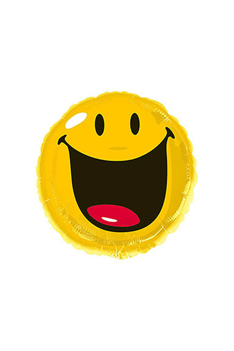 Smiley Folyo Balon 43cm 1 Adet