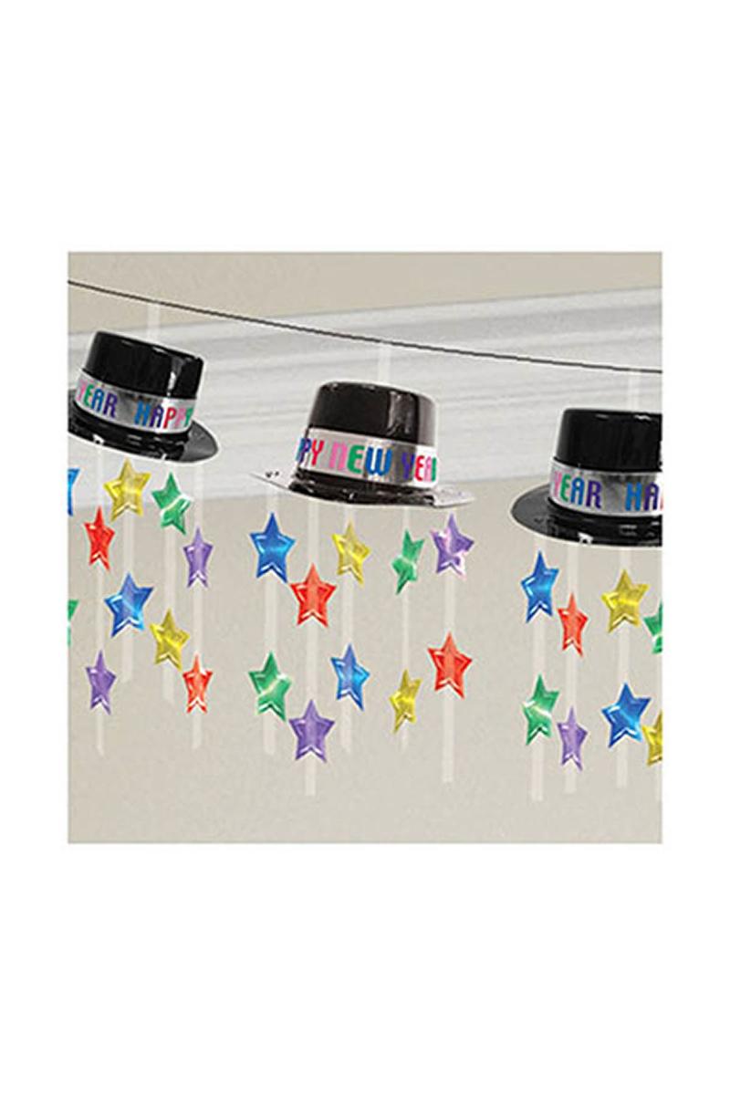 Yeni Yıl Şapkaları Tavan Süsü 1 Adet