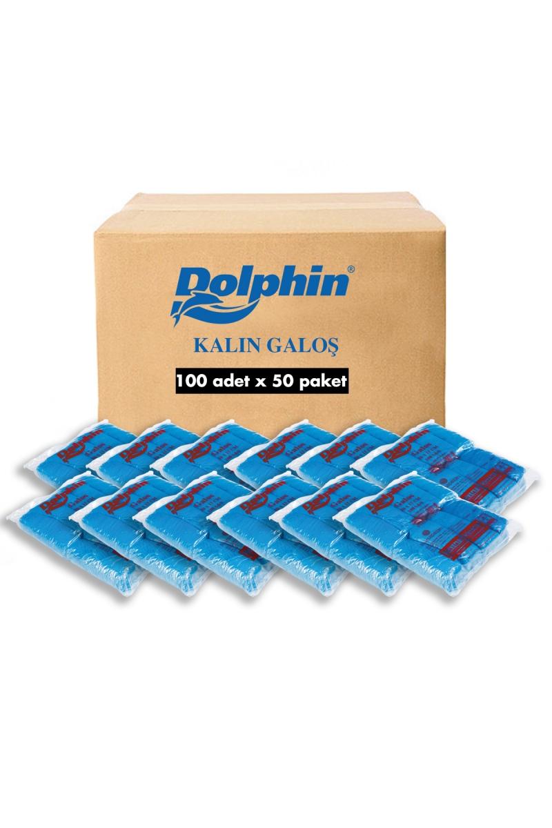 Dolphin İthal Kalın Galoş 5000 Adet (Koli)