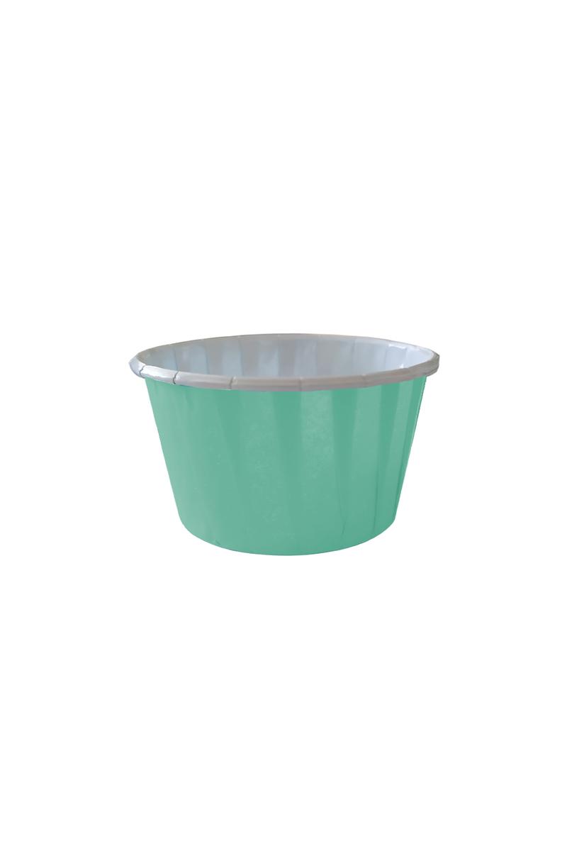 Dolphin Mat Mint Yeşili Muffin Kek Kapsülü 50li