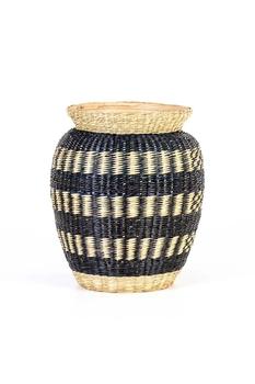 Bambu Dekoratif Vazo Siyah Naturel Renk 34cm 1 Adet - Thumbnail