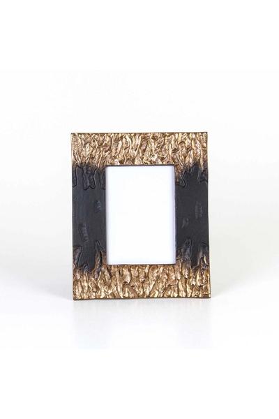 Metal Fotoğraf Çerçevesi Siyah Renk 22x27cm 1 Adet