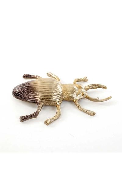 Metal Böcek Biblosu Altın Renk 31x25x6cm 1 Adet