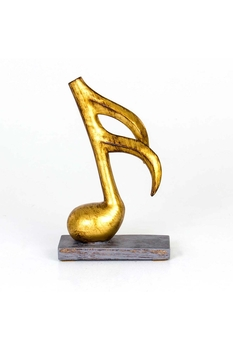 Nota Biblosu Altın Renk 16x8x26cm 1 Adet - Thumbnail
