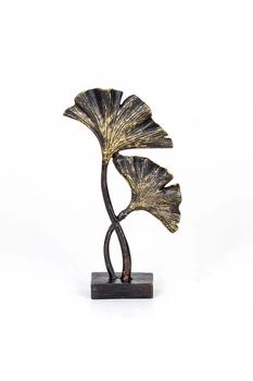Polirezen Çiçek Biblosu Siyah Renk 15x5x26cm 1 Adet - Thumbnail