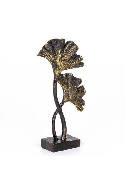 Polirezen Çiçek Biblosu Siyah Renk 15x5x26cm 1 Adet