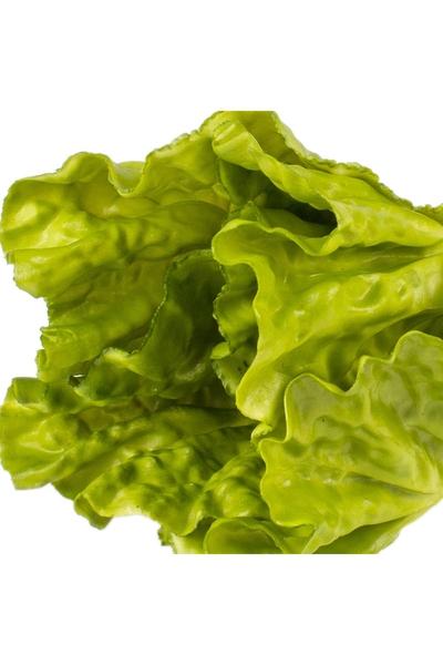 Yapay Marul Yeşil Renk 17cm 1 Adet