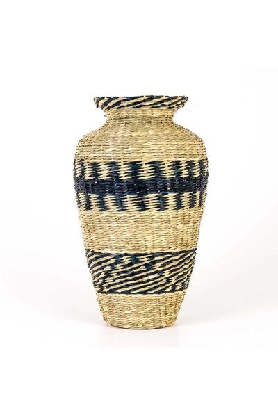 Bambu Vazo Naturel Renk 44cm 1 Adet