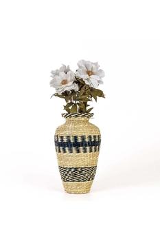 Bambu Vazo Naturel Renk 44cm 1 Adet - Thumbnail
