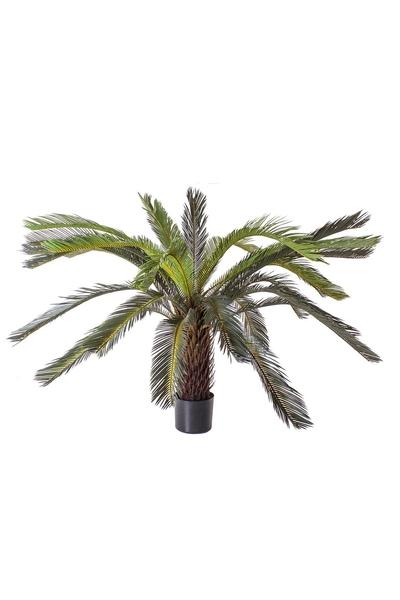 Yapay Palmiye Ağacı Kahverengi 120cm 1 Adet