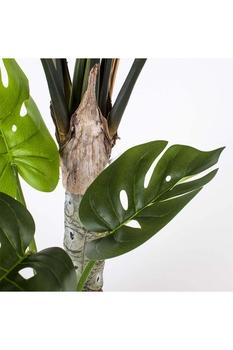 Yapay Saksıda Deve Tabanı Yeşil Renk 120cm 1 Adet - Thumbnail