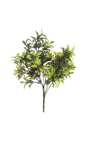 Yapay Çay Yaprağı Yeşil 34cm 1 Adet