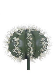 Yapay Kaktüs Bitkisi Yeşil Renk 28x28cm 1Adet - Thumbnail