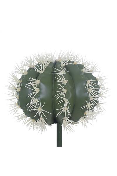Yapay Kaktüs Bitkisi Yeşil Renk 28x28cm 1Adet