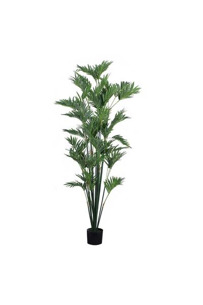 Yapay Palmiye Ağacı Areka Yeşil Renk 180cm 1Adet