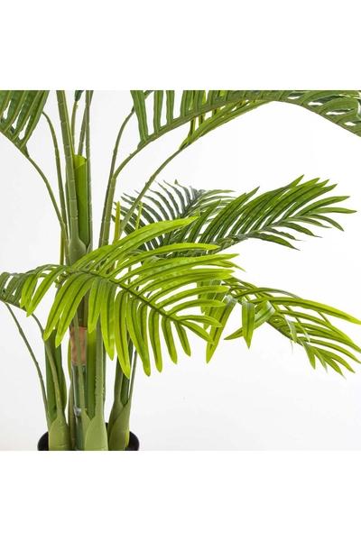 Yapay Palmiye Ağacı Golden Can Yeşil Renk 120cm 1Adet