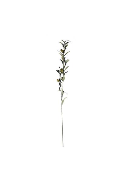 Yapay Zeytin Dalı Kahverengi 82cm 1 Adet