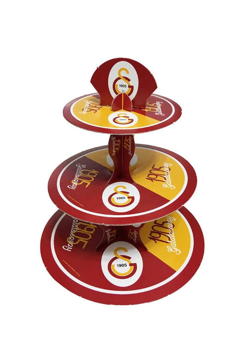 Galatasaray Cupcake Standı 3 Katlı 1 Adet