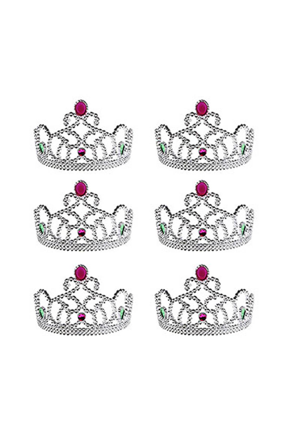 Gümüş Kraliçe Taç Seti