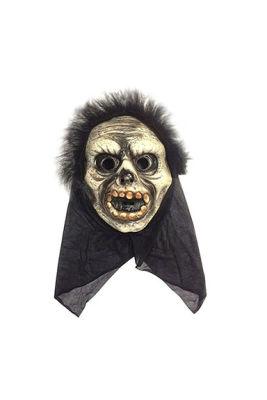 Cadılar Bayramı / Halloween Pelerinli İskelet Maske