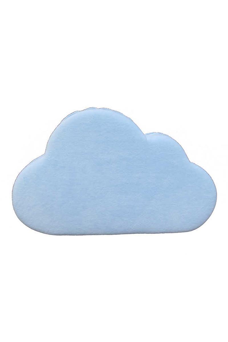 Kapı Süsü Sade Bulut Büyük Mavi Pakette 1 Adet