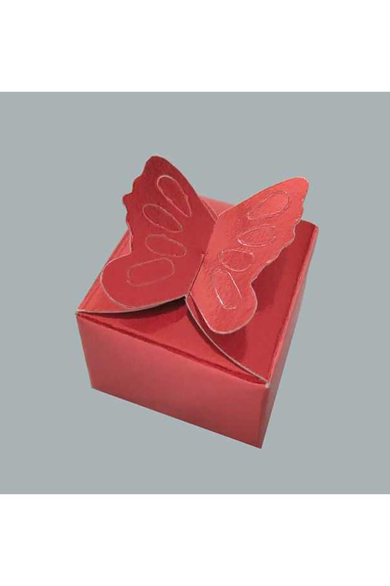 Kına Kelebekli Model Karton Pakette 100 Adet