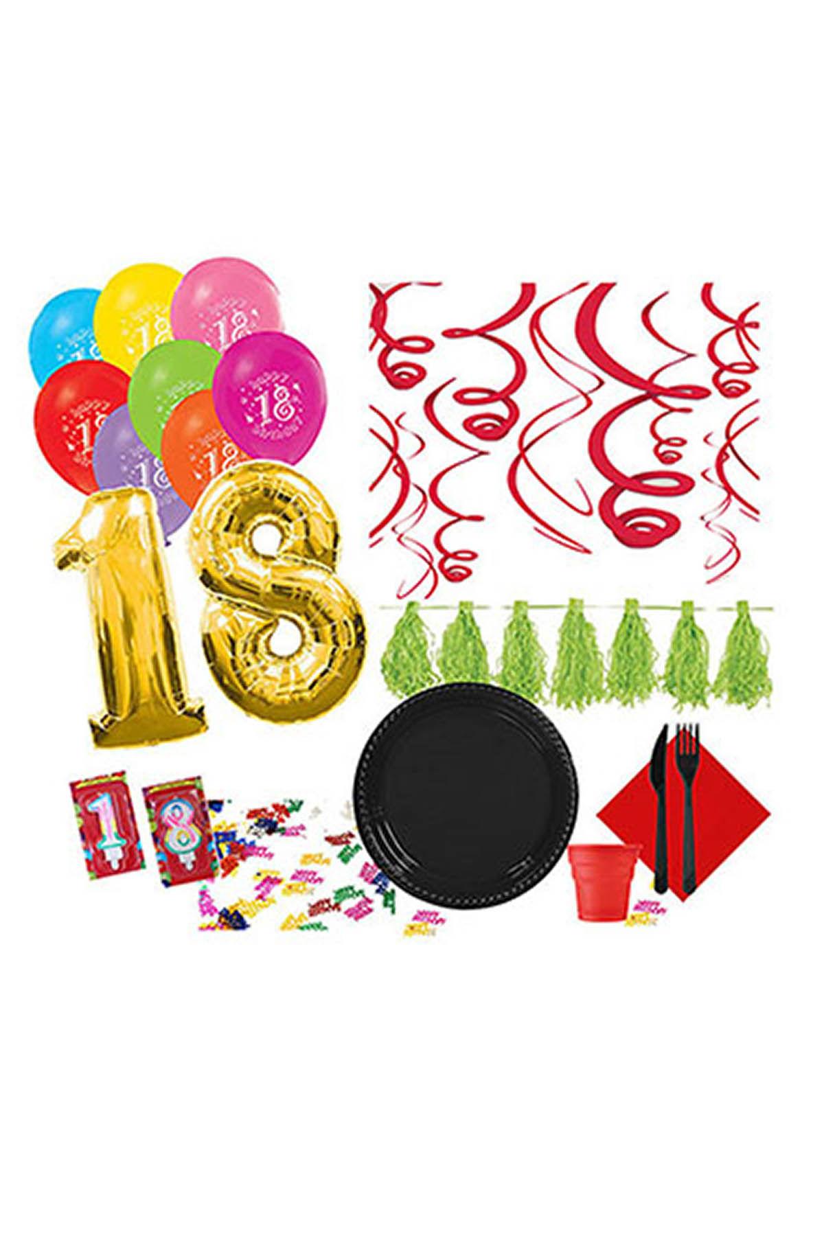 18 Yaş Özel Parti Seti