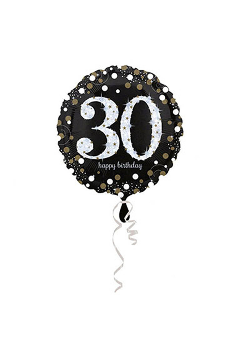 30 Yaş Doğum Günü Folyo Balon 43cm 1 Adet