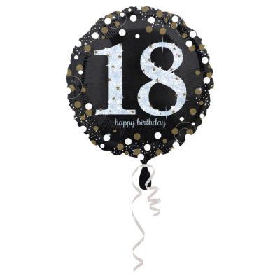 18 Yaş Doğum Günü Folyo Balon 43cm