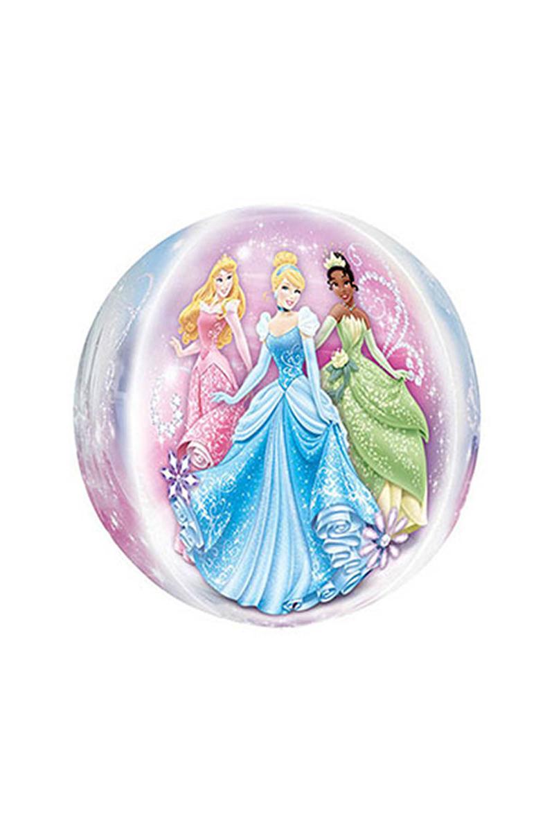 3D Disney Prensesleri Folyo Balon 45cm 1 Adet