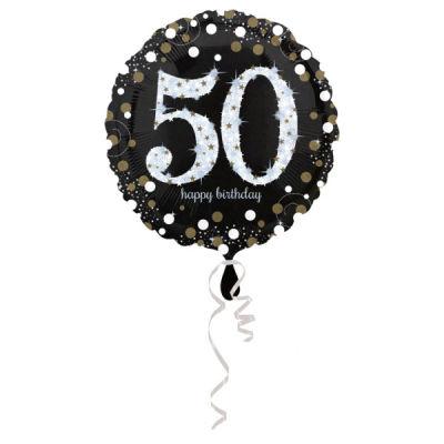 50 Yaş Doğum Günü Folyo Balon 43cm