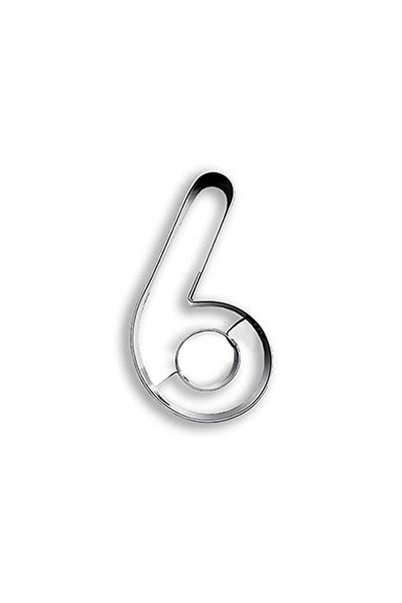6 Yaş Metal Kurabiye Kalıbı 1 Adet