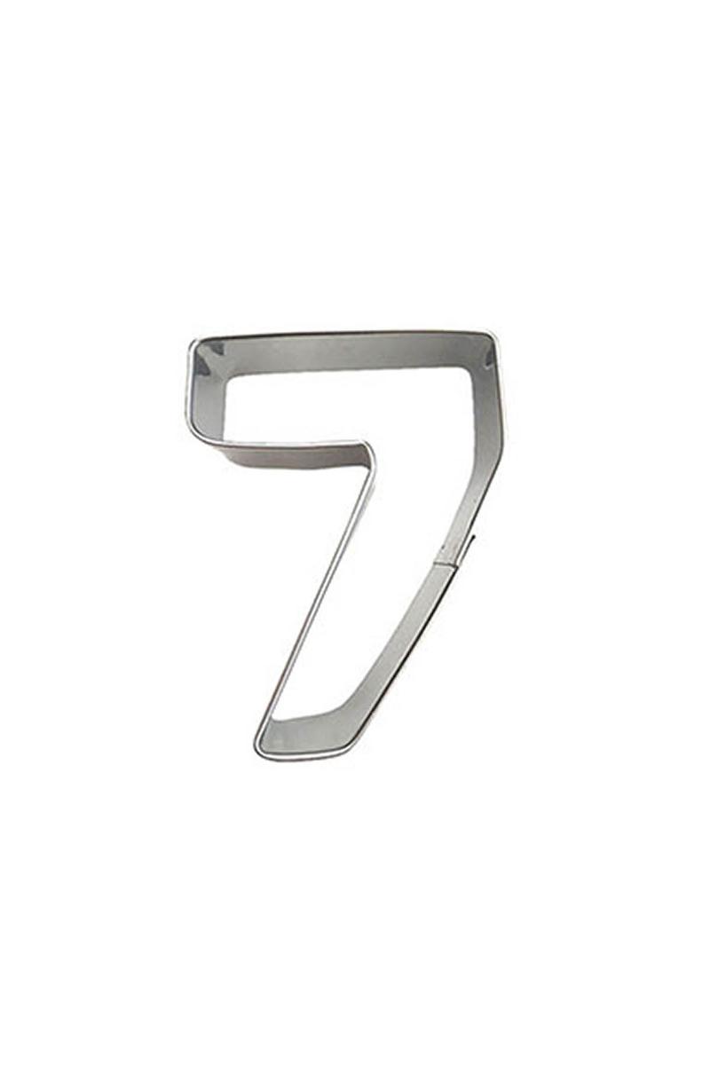7 Yaş Metal Kurabiye Kalıbı 1 Adet