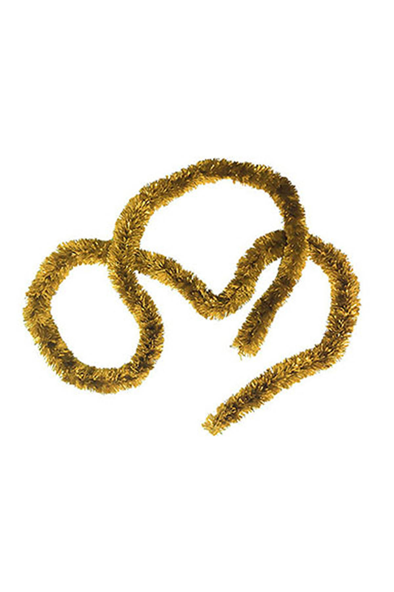 Altın Kalın Boyun Simi 5cm x 2m 1 Adet
