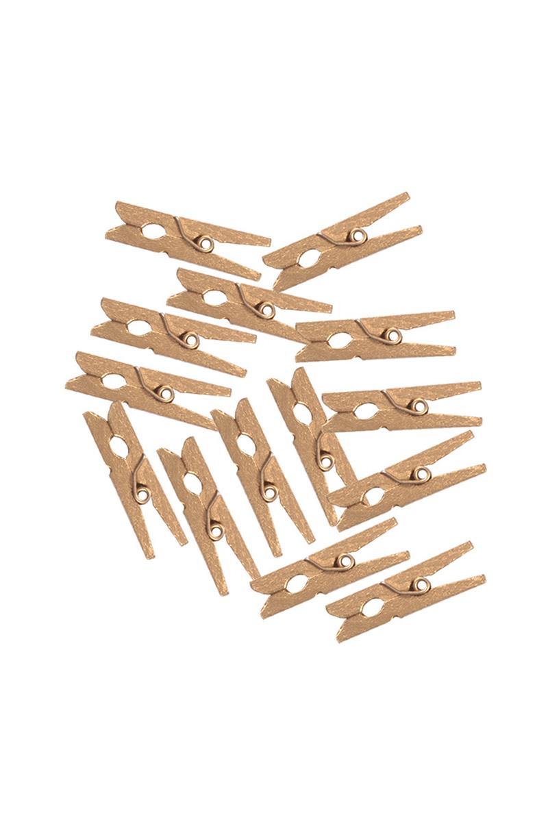 Altın Minik Mandal 3cm 100lü Paket - Thumbnail