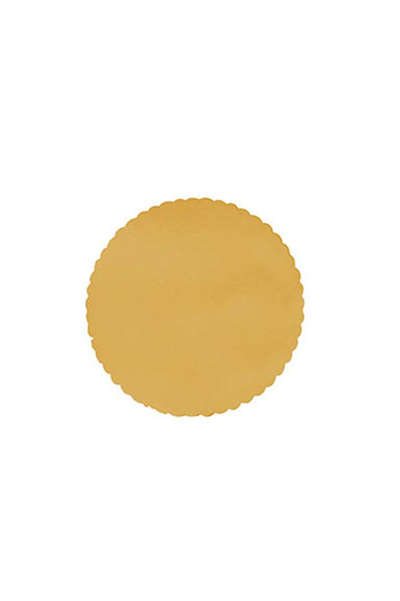 Kalın Altın Pasta Tabanı 30cm 5li
