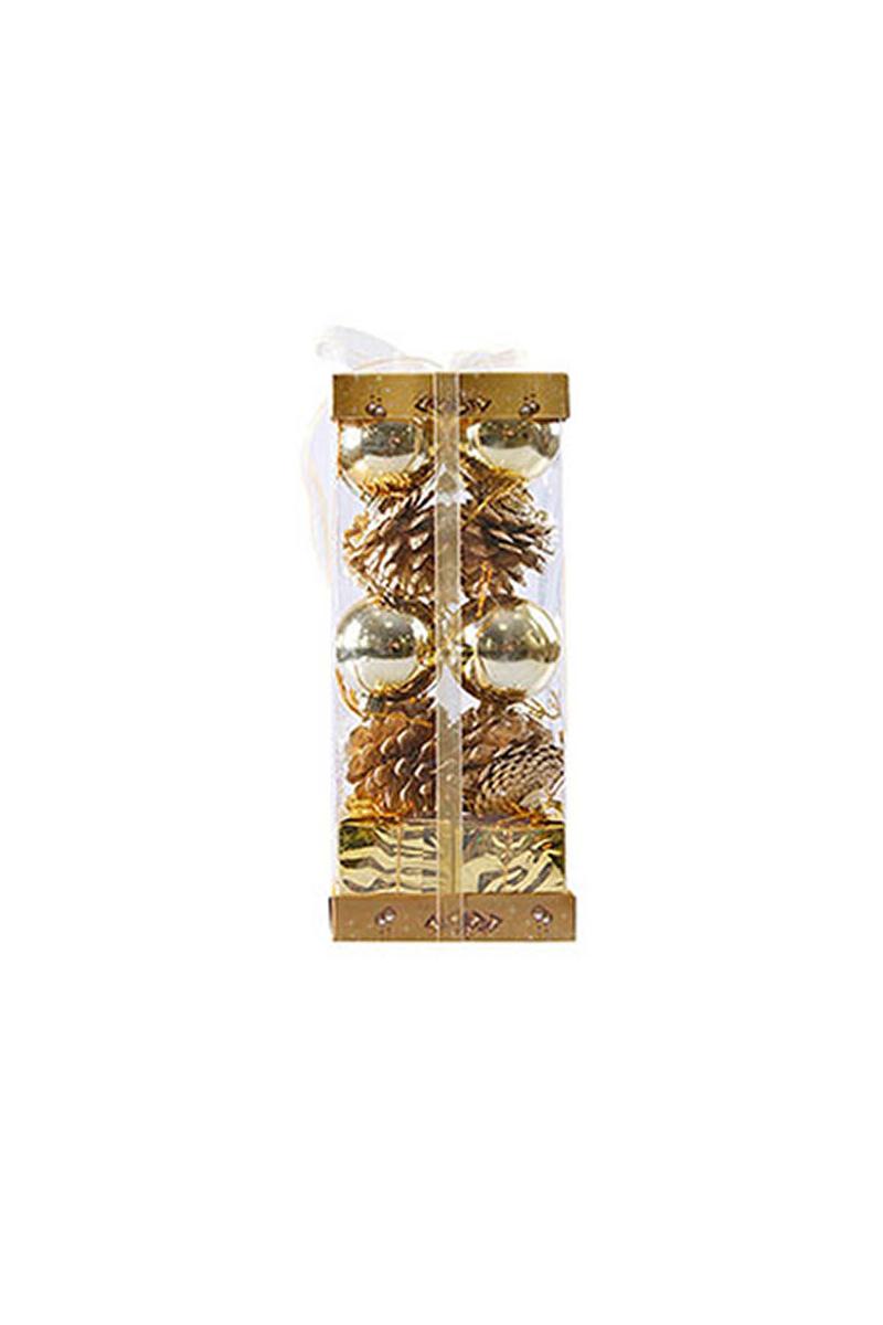Altın Yılbaşı Ağaç Süs Seti 20li 5cm