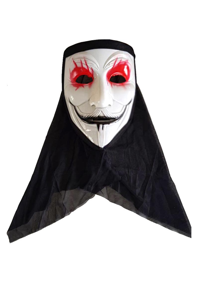 Anonymous Pelerinli Maske 1 Adet