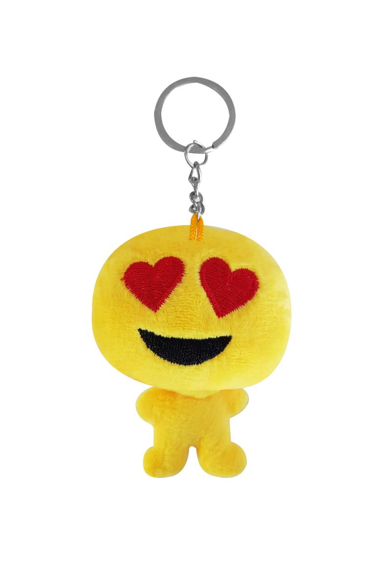 Aşık Peluş Emoji Anahtarlık 6cm 1 Adet