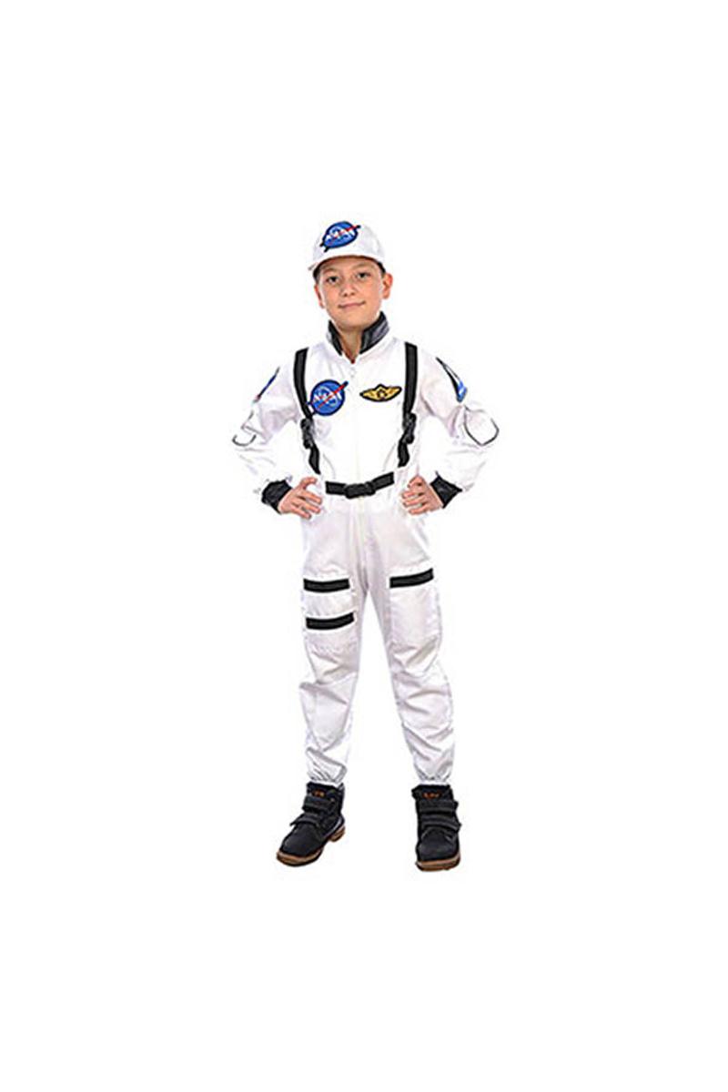 Beyaz Astronot Çocuk Kostüm 7-8 Yaş 1 Adet