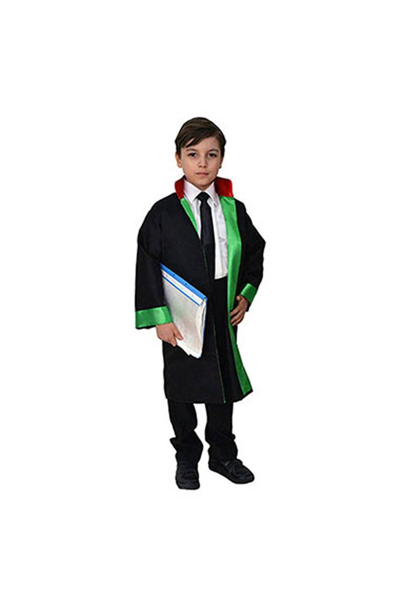 Avukat Cübbesi Çocuk Kostümü 5-6 Yaş 1 Adet