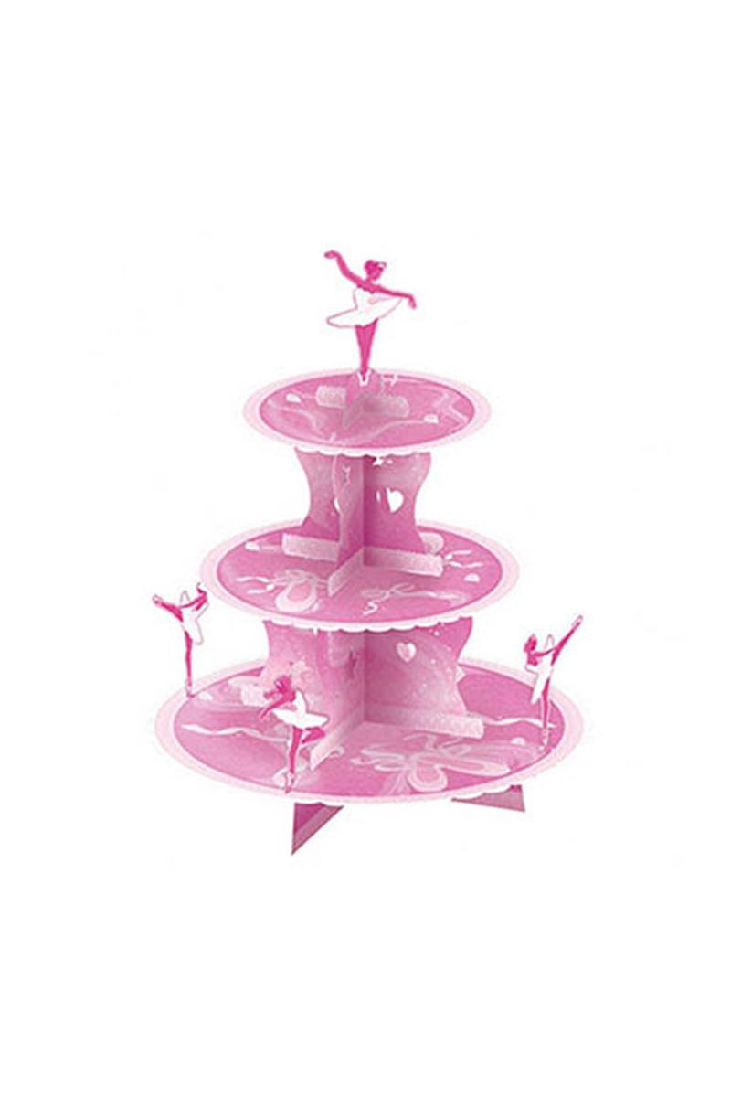 Balerin Cupcake Standı 1 Adet