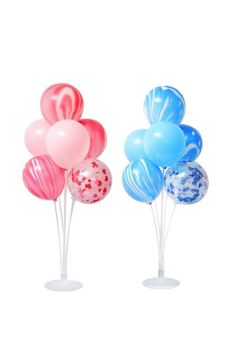 Balon Süsleme Standı Seti Vakumlu 7li - Thumbnail
