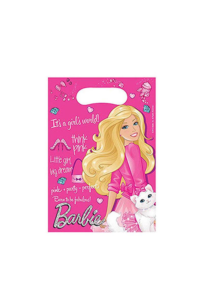 Barbie Sparkle Parti Çantası 6lı