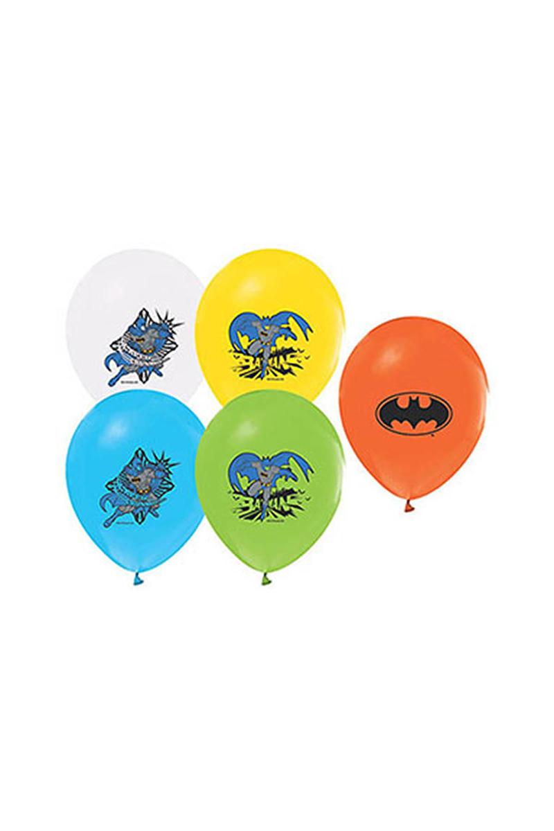 Batman Baskılı Balon 10lu